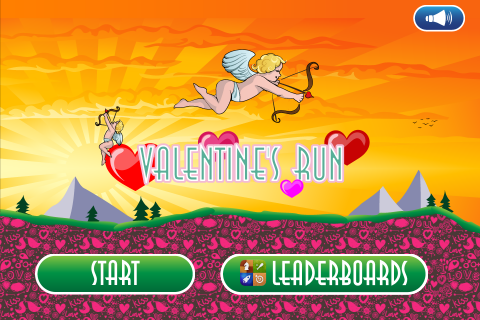 Screenshot Valentine's Run