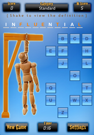 Screenshot iHangman