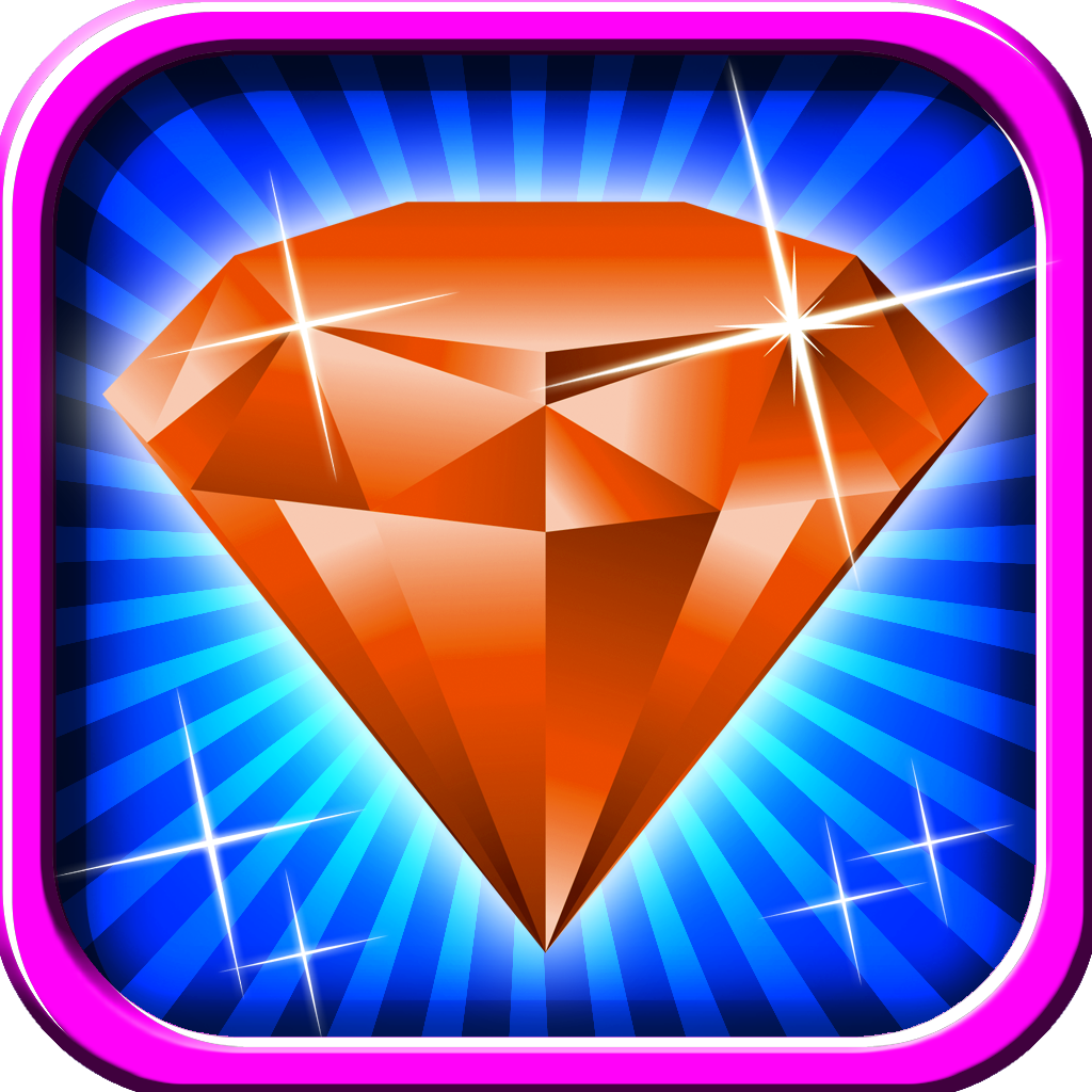 Jewel Crush Mania Pro - Mix & Match Brilliant Sparkling Diamonds to Display Mastery of the Game!